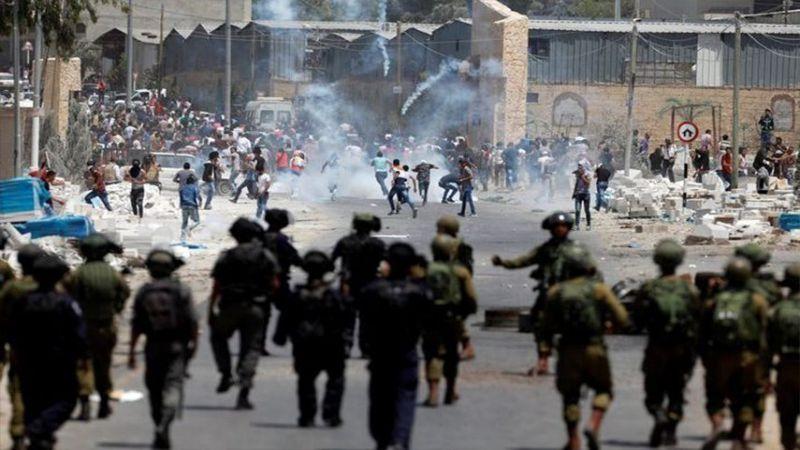 إصابة عشرات الفلسطينيين جراء قمع الاحتلال مسيرات منددة بالاستيطان في الضفة