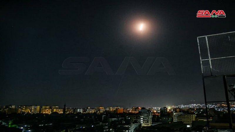 بالفيديو: الدفاعات الجويّة السورية تتصدى لعدوان صهيوني في دمشق وحمص