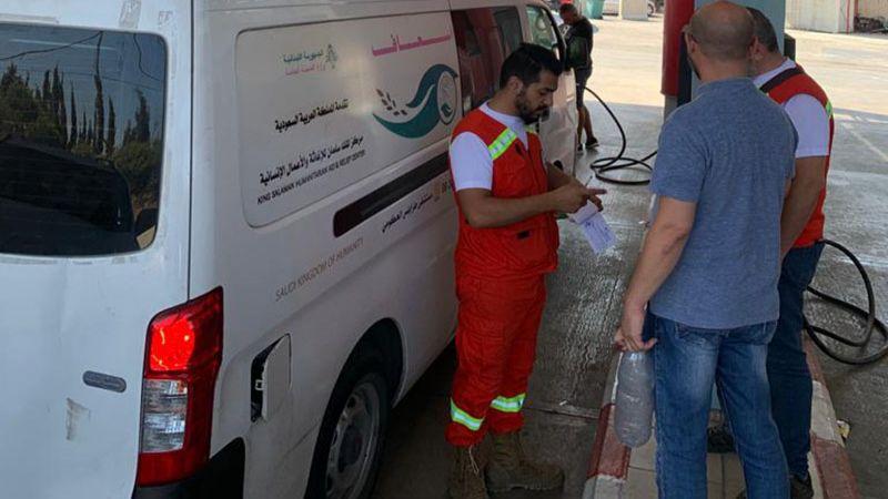 في طرابلس.. محطة وقود مخصصة للأطقم الطبية