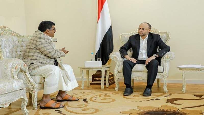 اليمن: الرئيس المشاط يشيد بدعم أبناء مأرب للجيش واللجان الشعبية