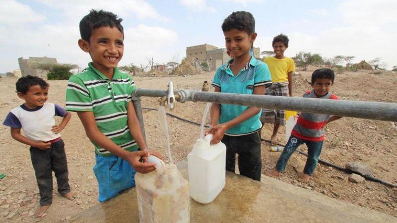 نصف اليمنيين يفتقرون لمياه الشرب النقيّة