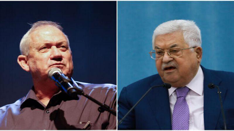 المؤسسة الأمنية الإسرائيلية: اجتماع غانتس وعباس تعزيز للعلاقات مع السلطة