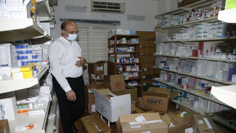 وزير الصحة يواصل دهم مستودعات الأدوية ويضبط أدوية مفقودة