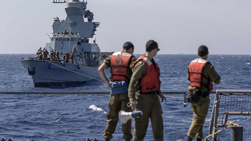 للمرة الأولى.. مناورة بين الأسطوليْن الأمريكي والإسرائيلي