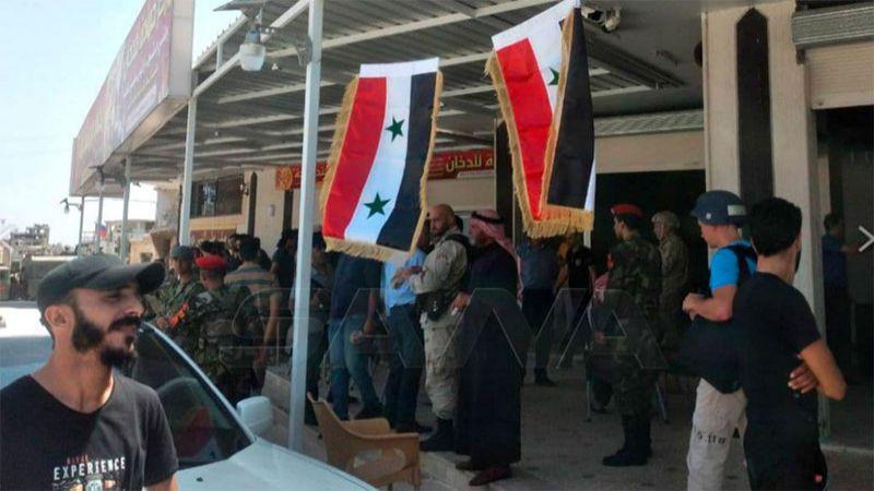 درعا: اتفاق التسوية السلمية يسلك طريقه