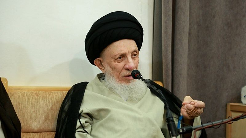 من هو المرجع الديني الكبير الراحل السيد محمد سعيد الحكيم؟