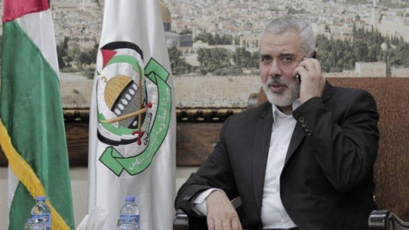 """هنية: جهود """"حماس"""" متواصلة للإفراج عن جميع الأسرى"""