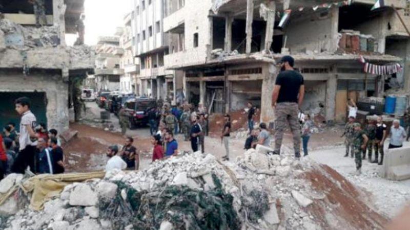 المجموعات الإرهابية في درعا البلد تعطّل تنفيذ اتفاق التسوية