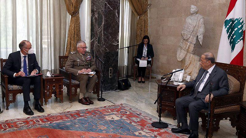 الرئيس عون: لبنان يرحّب بأي دعم يقدّمه الاتحاد الأوروبي لتجاوز الأزمة