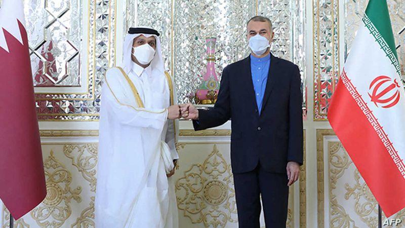وزير الخارجية الإيراني التقى نظيره القطري وبحثا التطورات في أفغانستان