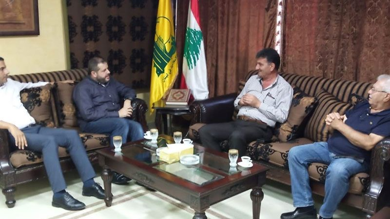 حزب الله عرض مع وفد النجدة الشعبية اللبنانية الوضع الصحي في صيدا والجوار