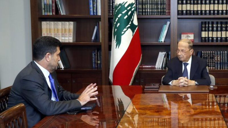 عون اطلع من غجر على محادثات عمان حول استجرار الغاز: التحقق من الأمور التقنية يتطلب ثلاثة اسابيع