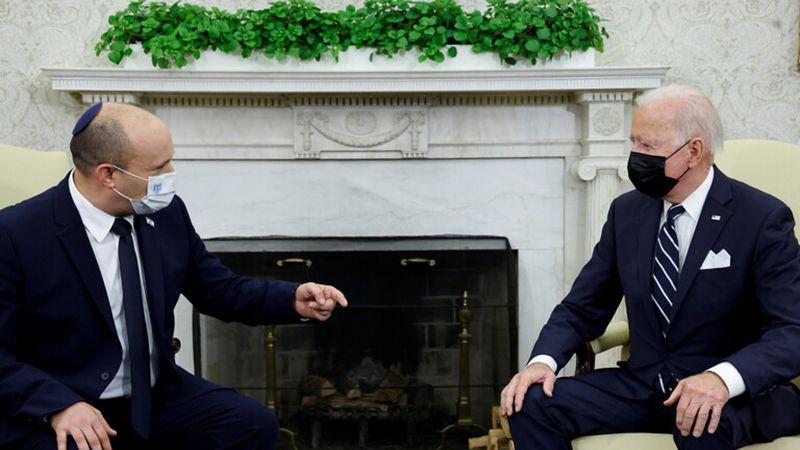 بايدن لبينيت: لا تراجع عن فتح القنصلية الأميركية بالقدس