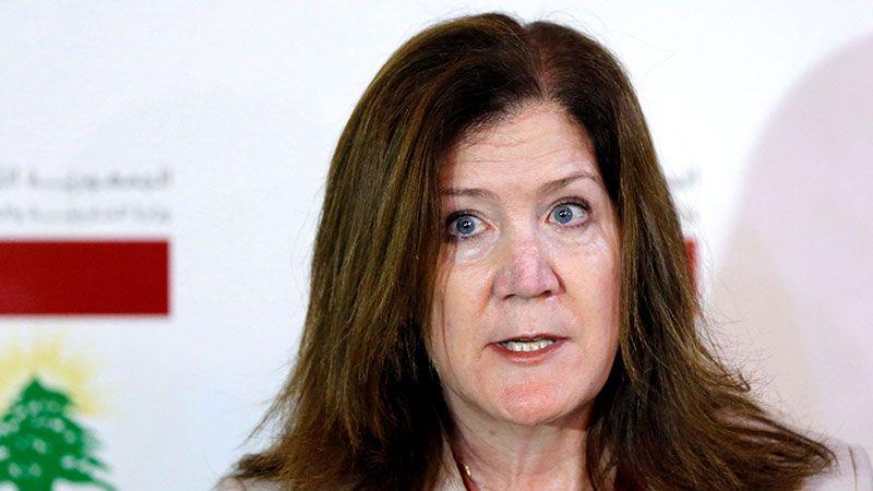 تأنيبٌ أمريكي جديد لسفيرة واشنطن في لبنان