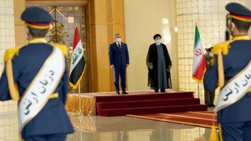 الكاظمي في طهران على رأس وفد حكومي عراقي كبير