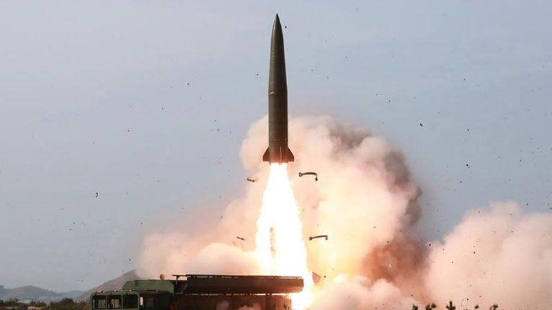 كوريا الشمالية تختبر إطلاق صواريخ جديدة طويلة المدى