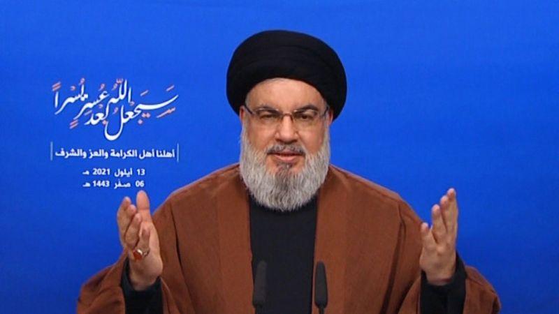 السيد نصرالله: حمولات المازوت تدخل الخميس الى لبنان جزء منها هبة والآخر بأقل من الكلفة