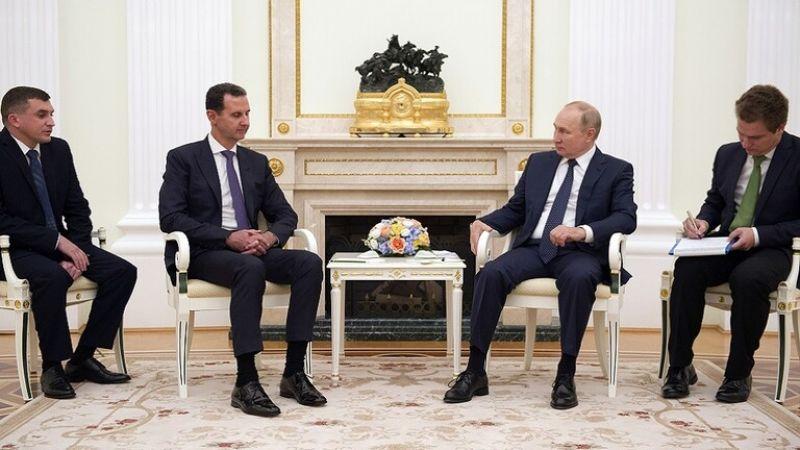قمة بوتين - الأسد في الكرملين: لاستكمال المسار السياسي في سوريا
