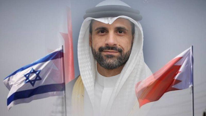 السفير البحريني في الأراضي المحتلة يتغزّل بالعدو