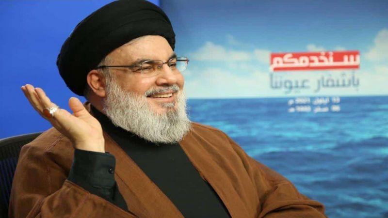السيد نصر الله: لعدم القيام بأي تجمعات شعبية أثناء مرور قافلة الصهاريج الناقلة للوقود