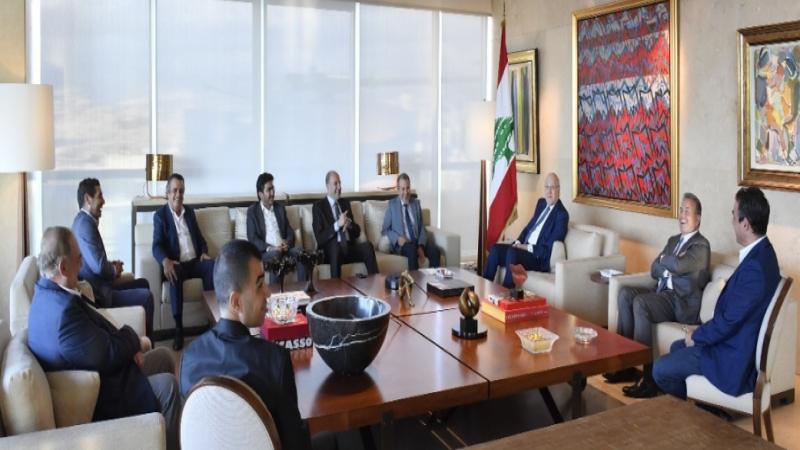 تكتّل لبنان القوي يزور ميقاتي: بعد إقرار البيان الوزاري نعطي الثّقة أو نحجبها