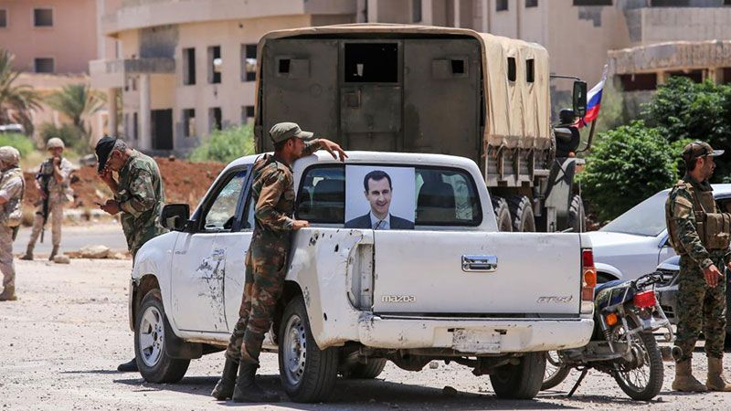 سوريا: تنفيذ اتفاق درعا متواصل