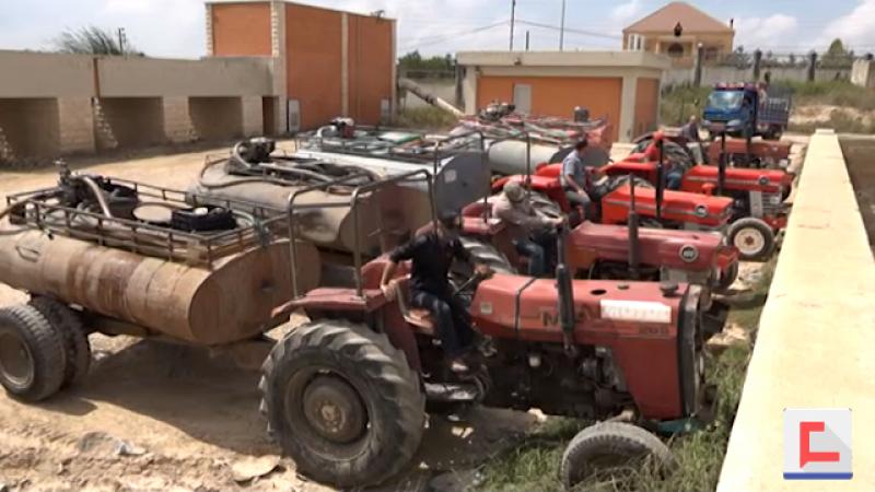 بالفيديو: مياه الشفة من مشروع الطيبة إلى القرى المحيطة مجانًا