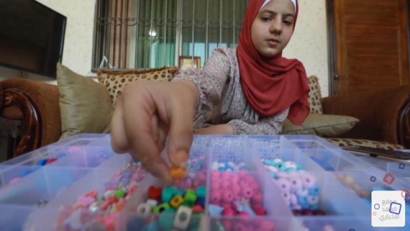 مراهقة فلسطينية تتحوّل الى ملهمة لأقرانها