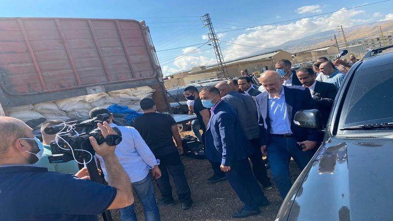 وزير الداخلية تفقّد شاحنة محملة بنيترات الأمونيوم في بدنايل: للقيام بمسح شامل للمنطقة