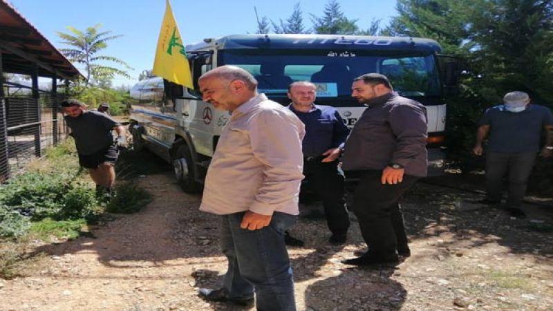 """شركة """"محطات الأمانة"""" تطلق مشروع توزيع هبات المازوت الإيراني في بعلبك"""