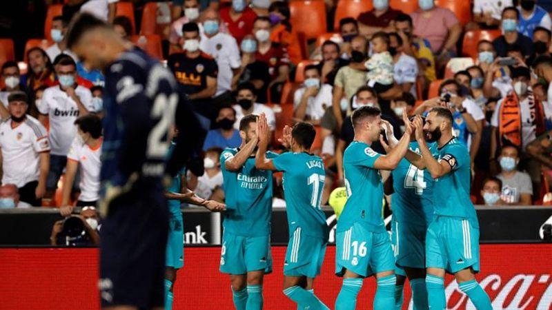 ريـال مدريد إلى صدارة الليغا بعد قلبه الطاولة على فالنسيا