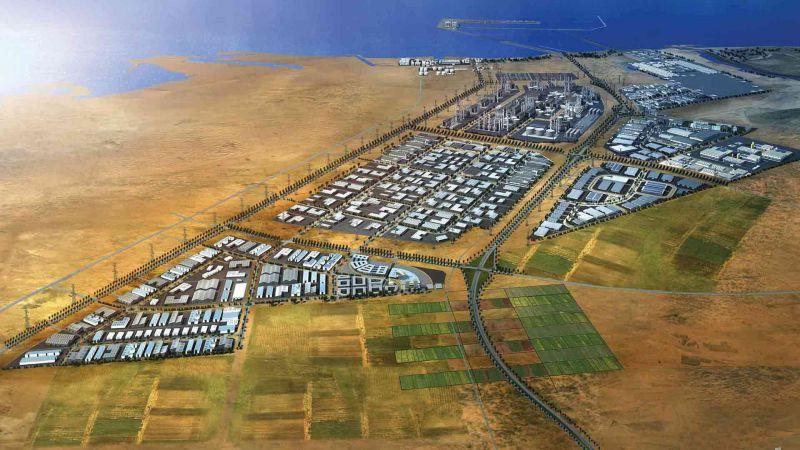 اتفاق تجاري ضخم بين بنك إسرائيلي ومنطقة خليفة الصناعية