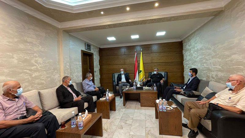 لقاء بين حزب الله والفصائل الفلسطينية في صور