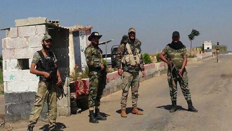 الجيش السوري يوسّع انتشاره في طفس