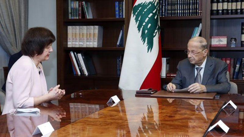 """الرئيس عون: توقيع """"اسرائيل"""" عقود تقييم تنقيب الغاز والنفط يتناقض مع مسار التفاوض"""