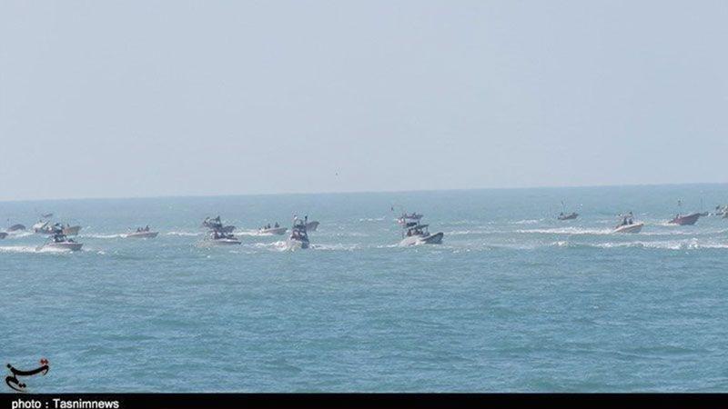 إيران: الحرس الثوري يستعرض قوّته البحرية في الخليج