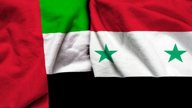 الإمارات تطمح للتعاون مع سوريا مائيًا