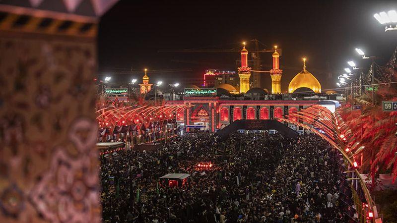 ملايين الزوار نحو قبلة العشق الحسيني