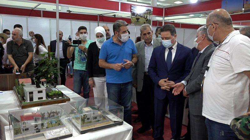 """""""عمّرها 2021"""": مشاركة واسعة في المعرض الدولي لإعادة إعمار سورية"""