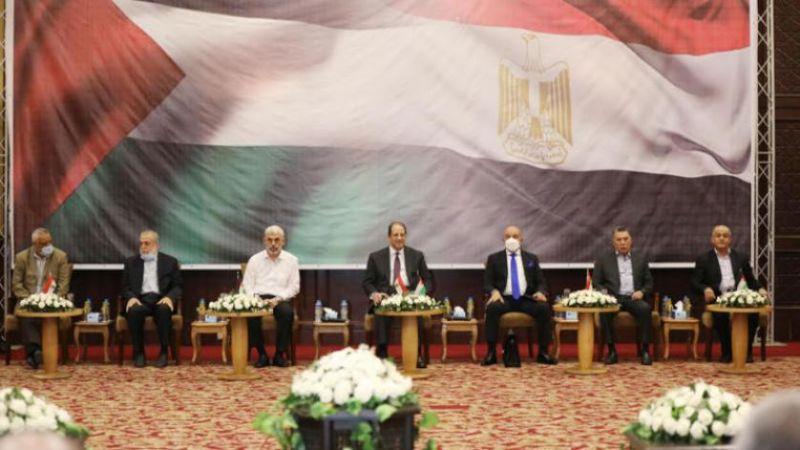 حماس تبحث مع وزير المخابرات المصرية إعادة ترتيب البيت الفلسطيني والقدس والأسرى والإعمار