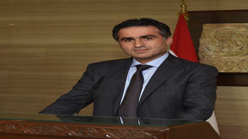 """وزير الأشغال لـ""""العهد"""": التواصل مع سوريا والأردن والعراق وتركيا بات على سلّم أولوياتي"""