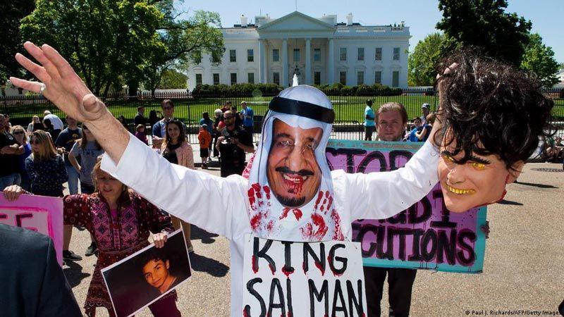 ازدواجية أمريكية مع الأحكام التعسفية في السعودية