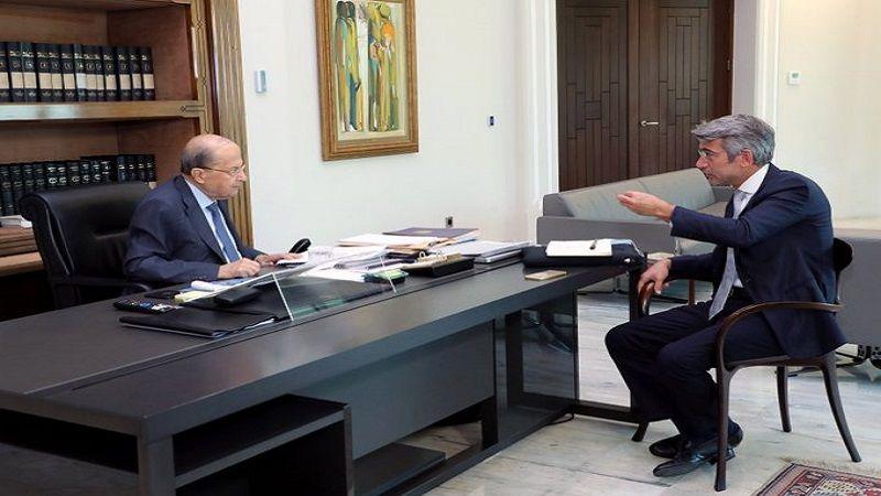 فياض اطلع الرئيس عون على محادثاته في مصر والأردن: لمست رغبة صادقة بالإسراع في استجرار النفط والغاز