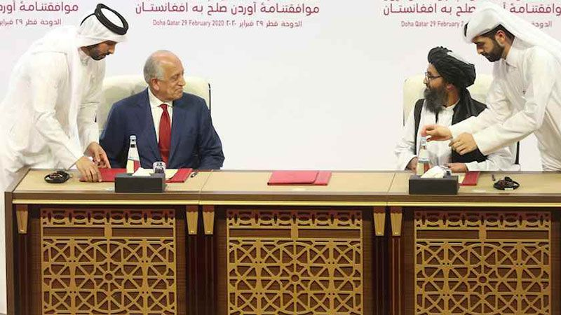 """قطر تستضيف أولى المحادثات بين """"طالبان"""" وواشنطن بعد الانسحاب من أفغانستان"""