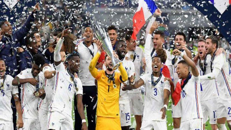 فرنسا بطلة لدوري الأمم الأوروبية