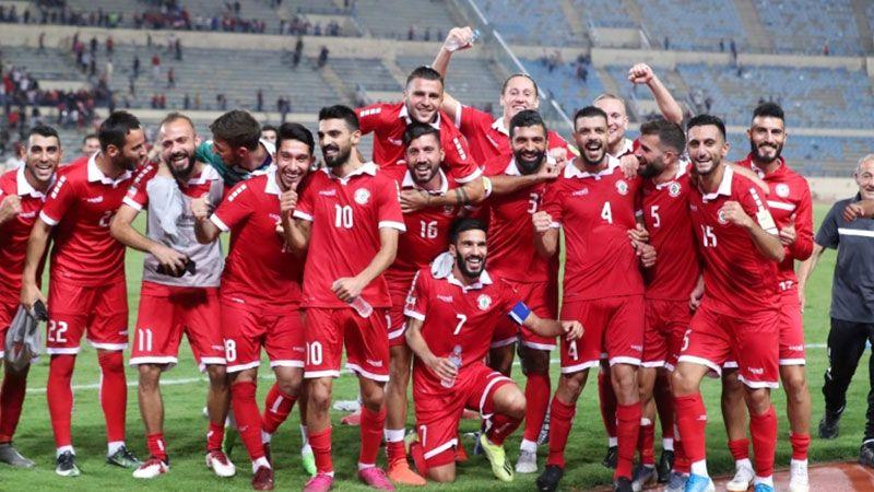 المنتخب اللبناني يواجه سوريا في التصفيات الآسيوية المؤهلة لمونديال قطر