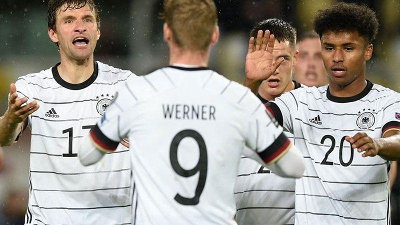 ألمانيا إلى نهائيات كأس العالم قطر 2022