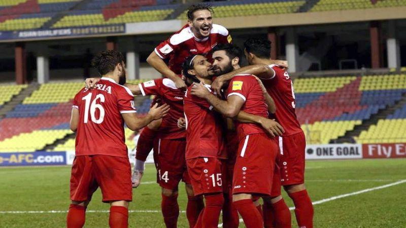 فوز مُثير للبنان على سوريا في التّصفيات الآسيوية والتّعادل يحسم موقعة ازايدي