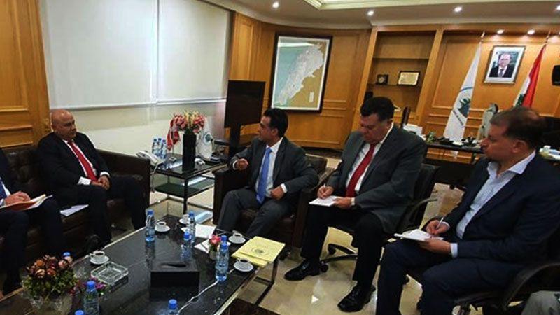 الوزير حمية: نعمل على وضع مخطط توجيهي لمرافىء لبنان الأربعة