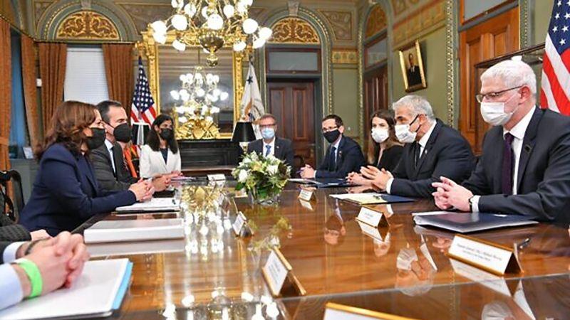 اجتماعات لابيد في واشنطن: الهاجس الإيراني النووي أولوية